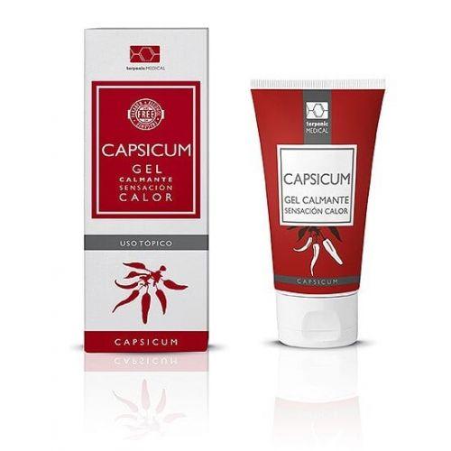 CAPSICUM é um gel que confere alívio e efeito térmico que aquece, reduzindo a sensação de dor e inflamação.   Também disponível em 30ml.