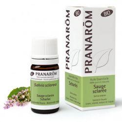 Óleo essencial Salvia Esclareia BIO Pranarom | SerEssencial