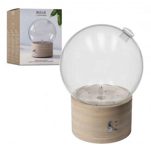 Difusão a seco de óleos essenciais  - Sistema de nebulização - Madeira e vidro - Névoa e efeito de luz