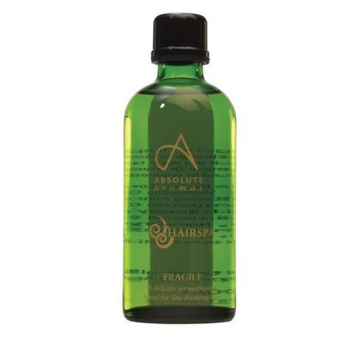 Fragile é uma mistura de óleos rica e hidratante para cabelos finos e frágeis que ajuda a fortalecer e estimular o crescimento de novos cabelos.