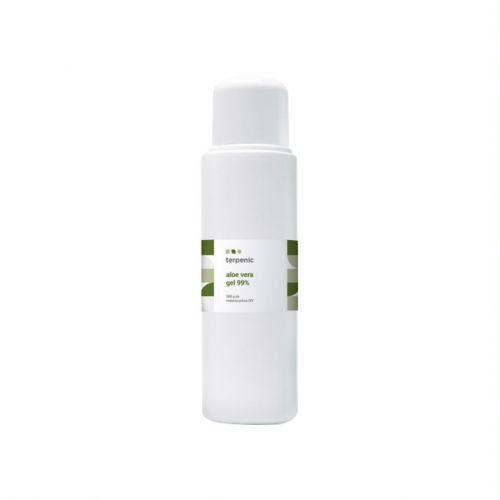Gel de aloe vera para uso tópico. 100% natural. Ideal para formulações com sinergias de óleos essenciais com propriedades cicatizantes e calmantes da pele e couro cabeludo.