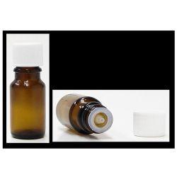 Frasco em vidro escuro, 5ml com tampa conta-gotas. Para diluir e elaborar as suas próprias sinergias de  óleos essenciais .