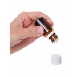 Frasco em vidro escuro 10ml com tampa conta-gotas para diluir e elaborar as suas próprias sinergias de óleos essenciais.