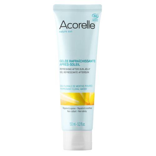Uma fórmula fresca, fluida e calmante para hidratar e acalmar a pele após a exposição ao sol.