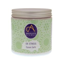 Sais de Epsom puros infundidos com a mistura de óleos essenciais que inclui jasmim e bergamota.
