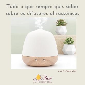 Difusor ultrassónico aromaterapia