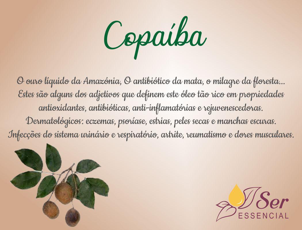 Óleo copaíba faz parte medicina tradicional indígena brasileira
